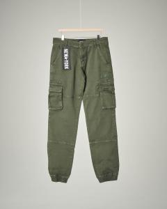 Pantalone militare con tasconi 34-44
