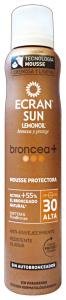 ECRAN Fp30 broncea mousse int. abbronzatura 200 ml.