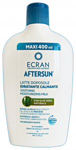 AFTERSUN ECRAN Doposole Aloe Idratante 400 Ml. Prodotti Solari