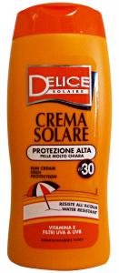 DELICE Fp30 Crema Solare 250 Ml Protezione Solare Estate