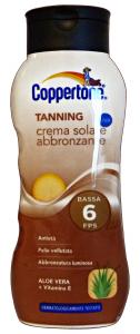COPPERTONE Fp6 tanning crema 200 ml. - Prodotti solari