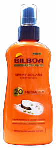BILBOA Fp20 vapo coconut beauty 200 ml. - prodotti solari