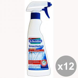 Set 12 DR.BECKMANN Smacchiatore Deodorante-Sudore TRIGGER 250 Ml. Detergenti casa