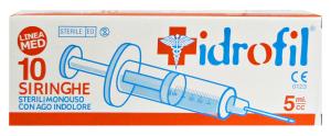 IDROFIL Siringhe X 10 pz. - Medicazioni e disinfettanti