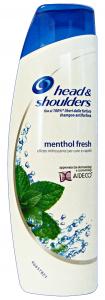 HEAD & SHOULDERS Shampoo mentol fresh antiforfora 250 ml. - Shampoo capelli