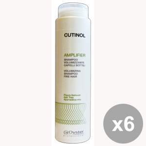 Set 6 CUTINOL Professionale AMPLIFIER Shampoo 250 Ml. Prodotti per capelli