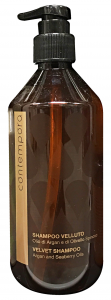 CONTEMPORA Shampoo velluto argan 500 ml. - articoli per capelli