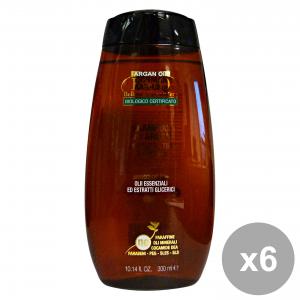 Set 6 BIOQ Shampoo Argan 300 M. Prodotti per capelli