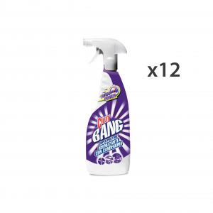 Set 12 CILLIT BANG Sgrassatore Bianco Con Candeggina TRIGGER 750 Ml. Detergenti casa