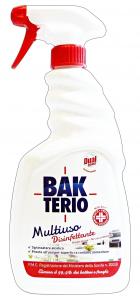 BAKTERIO MultiSuperficie Disinfettante TRIGGER 750 Ml. Detergenti Casa