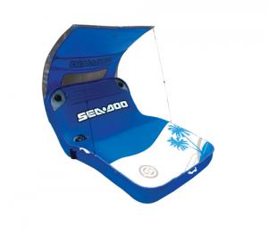 Piattaforma Gonfiabile 2 Posti SEADOO CABANA LOUNGE blu bianco SD05006