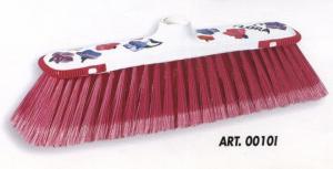 FLORALUX Scopa ROSA E BLU ART.0010I Attrezzi Pulizie