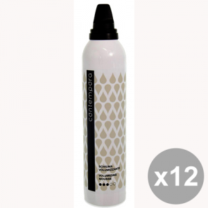 Set 12 CONTEMPORA Schiuma Volumizzante 300 Ml. Prodotti per capelli