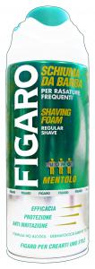 FIGARO Schiuma barba mentolo 400 ml. - schiume e creme da barba