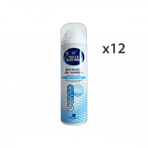 FELCE AZZURRA Set 12 Schiuma Barba Sensitive 300 Ml Profumi