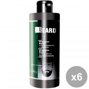 Set 6 BBEARD Shampoo Barba Ammorbidente 150 Ml. Prodotti per capelli