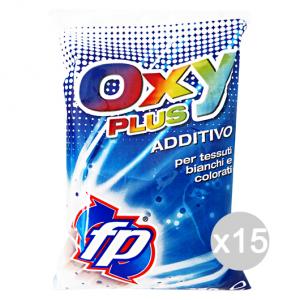 Set 15 ASTONISH Fp Additivo Sbiancante Bianchi/Colorati 450 Gr Oxy Plus Prodotto Lavatrice
