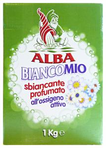 ALBA Biancomio Ossigeno Attivo 1 Kg Prodotto Lavatrice