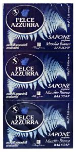 FELCE AZZURRA Saponette muschio bianco *3 pz. 125 gr. - sapone