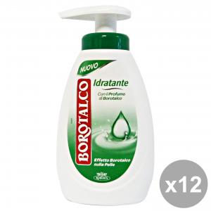 BOROTALCO Set 12 Sapone Liquido Idratante 250 Ml Saponi E Cosmetici