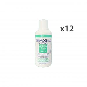 Set 12 DERMOGELLA Detergente Liquido VITAL 500 Ml. PH 4,5 Saponi e cosmetici