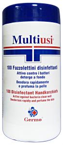 GERMO Salv.disinfettanti X 100 pz. - Salviette igieniche