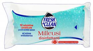 FRESH & CLEAN Salviette Disinfettante X 12 Pezzi Prodotti igienici sanitari
