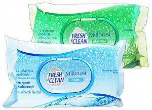 FRESH & CLEAN Salviette Milleusi Apertura Rigida CLASSIC X 72 Pezzi Prodotti igienici sanitari