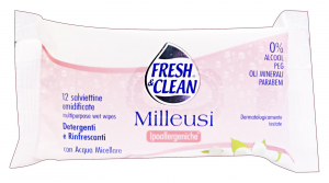 FRESH & CLEAN Salviette ipoallergeniche * 12 pz.