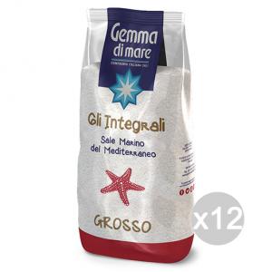 Set 12 Sale Grosso In Busta Del Mediterraneo Integrale 1 Kg 103874 Condimenti E Spezie