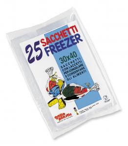 GALLO Freezer busta 30x40 X 25 pz - Avvolgenti e sacchetti alimenti