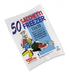 GALLO Freezer busta 15x30 X 50 pz - Avvolgenti e sacchetti alimenti