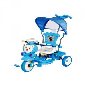 ODG Triciclo Glamour Dlx Azzurro Articoli A Pedali