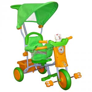 ODG Articoli A Pedali Triciclo Bubu Giallo/Verde Odg815 Giocattolo Bambini