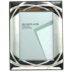 GICOS Portafoto Silver Satinato Con Anelli Cm.9X13 Articoli Regalo