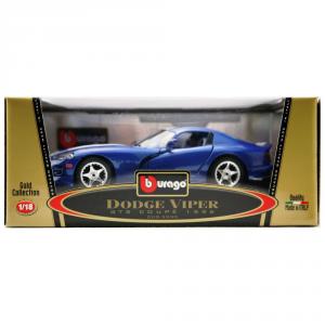 BBURAGO Modellini Auto Scala 1:18 Dodge Viper Gts Coupe' (1996) Giocattolo Bambino