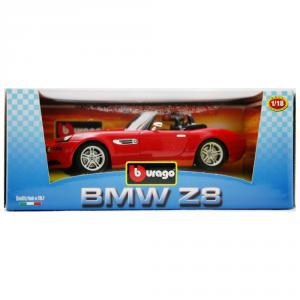 BBURAGO Modellini Auto Scala 1:18 Bmw Z8 2001 Rossa Giocattolo Bambino