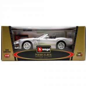 BBURAGO Modellini Auto Scala 1:18 Shelby Series 1 (1999) Giocattolo Bambino