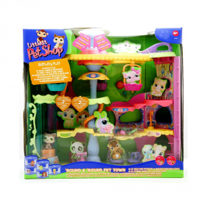 HASBRO Littlest Pet shop La Città Dei Cuccioli Miss Girl