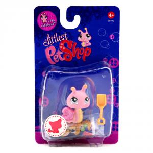 HASBRO Littlest Pet Shop Pupazzo Cucciolo Lumaca Giocattolo Bambina Linee Personaggio