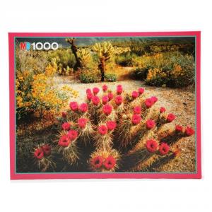 HASBRO Puzzle Mb 1000 Pezzi Cactus In Fiore