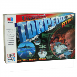 HASBRO Affonda La Flotta Torpedo! Giochi Da Tavolo