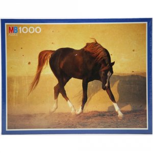 HASBRO Puzzle Pz.1000 Cavallo Purosangue Giocattolo