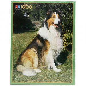 HASBRO Puzzle Mb 1000 pezzi Lassie Giochi e Giocattoli per Famiglia