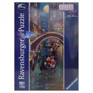RAVENSBURGER Puzzle 1000 Pezzi Romantic Disney ser