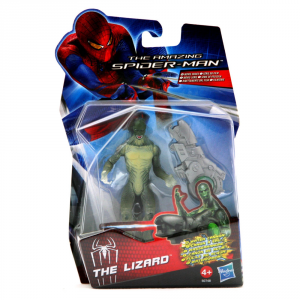 HASBRO Spider-Man The Lizard Fucil Cm.10 Giocattolo Bambino Linee Personaggio