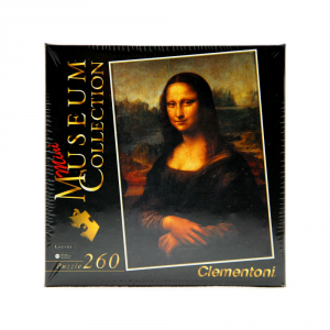CLEMENTONI Puzzle 260 pezzi Mini Museum Mona Lisa Giocattolo