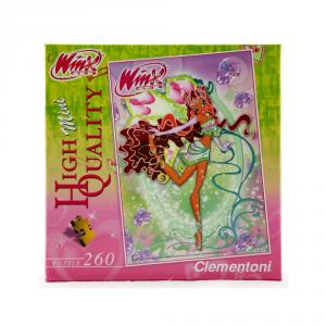 CLEMENTONI Puzzle 260 pezzi Mini Winx Aisha Giocattolo