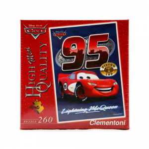 CLEMENTONI Puzzle 260 pezzi Mini Disney Cars Mc Queen Giocattolo