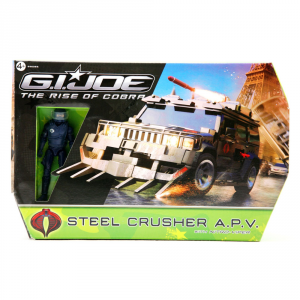 HASBRO G.I.Joe Veicolo Steel Crusher A.P.V. Giocattolo Bambino Linee Personaggio